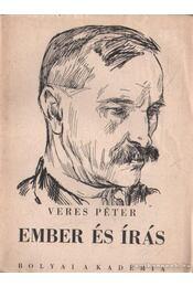 Ember és írás - Veres Péter - Régikönyvek