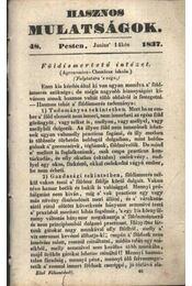 Hasznos mulatságok 1837/48. szám - Régikönyvek