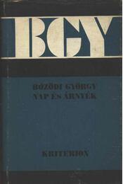 Nap és árnyék - Bözödi György - Régikönyvek