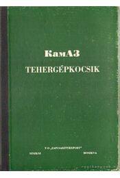 Kamaz tehergépkocsik - Régikönyvek