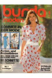 Burda moden 1987./5. Mai (német nyelvű) - Fehrenbach, Waltraud (szerk.) - Régikönyvek