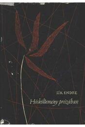 Hősköltemény prózában - Sík Endre - Régikönyvek