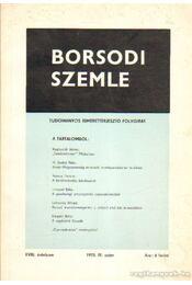 Borsodi szemle 1973. IV. szám - Több szerző - Régikönyvek