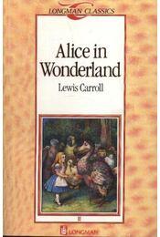 Alice in Wonderland - Lewis Carroll - Régikönyvek