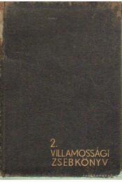 Villamossági zsebkönyv 2. - Wilczek Ernő - Régikönyvek
