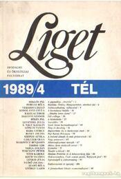 Liget 1989/4 tél - Szántó Tibor - Régikönyvek