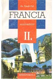 Francia nyelvkönyv II. - Dr. Pataki Pál - Régikönyvek