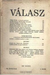 Válasz 1947/május - Több szerző - Régikönyvek
