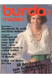 Burda moden 1985./12. Dezember (német nyelvű) - Régikönyvek
