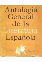 Antología General de la Literatura Espanola - Chabas, Juan - Régikönyvek