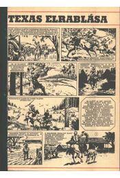 Texas elrablása ( Füles1972. 31-40 szám 1-10 rész) - Németh Jenő, Cs. Horváth Tibor - Régikönyvek