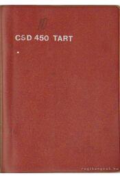 Csepel D 450.78 és P 042.13 típusú üzemanyagtartály vontató és pótkocsi kezelési és karbantartási útmutatója - Kozma József - Régikönyvek