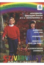 Szivárvány 2005. október IX. évfolyam 2. szám - Régikönyvek