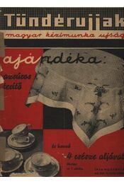 Tündérujjak 1936. november XII. évf. 11. (139. ) szám - Régikönyvek