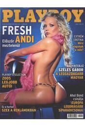 Playboy 2005. február - Hefner, Hugh M., Radnai Péter - Régikönyvek