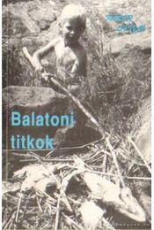 Balatoni titkok - Kóbor László - Régikönyvek