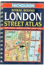 London street atlas - Régikönyvek
