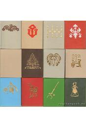 Békés megye néprajza 1-12. kötet (egészbőr) (mini) - Gecsei Lajos - Régikönyvek