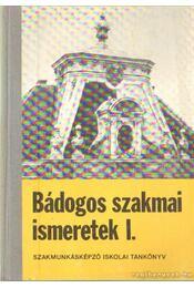 Bádogos szakmai ismeretek I-III. kötet - Hansági Béla - Régikönyvek