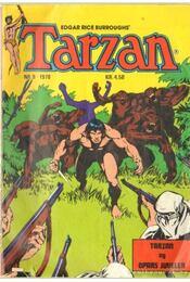 Tarzan Nr. 9. 1978 - Edgar Rice Burroughs - Régikönyvek