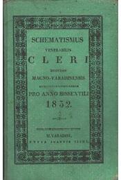 Schematismus venerabilis Cleri dioecesis Magno-Varadinesnsis - Régikönyvek