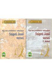 Szigeti Jenő versei 1-2. kötet - Szigeti Jenő - Régikönyvek