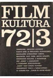 Filmkultúra 72/3 - Sallay Gergely (szerk.) - Régikönyvek