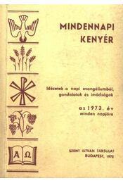 Mindennapi kenyér - Cserháti József - Régikönyvek