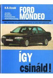 Ford Mondeo - Etzold, Hans-Rüdiger - Régikönyvek