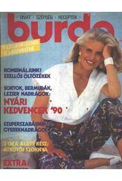 Burda 1990/7. Július - Régikönyvek