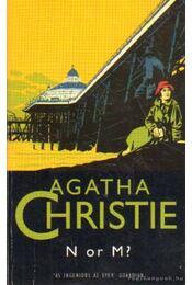N or M - Agatha Christie - Régikönyvek