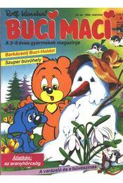Buci Maci 1992/március - Régikönyvek
