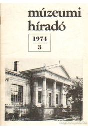 Múzeumi híradó 1974/3 - Mazán Mátyás - Régikönyvek