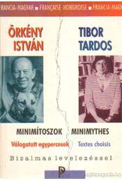 Minimítoszok - Minimythes - Örkény István, Tardos Tibor - Régikönyvek