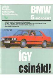 BMW 5-sorozat - Etzold, Hans-Rüdiger - Régikönyvek