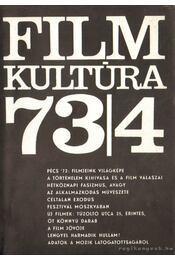 Filmkultúra 73/4 - Sallay Gergely (szerk.) - Régikönyvek