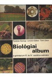 Biológiai album - Dr. Lénárd Gábor - Régikönyvek