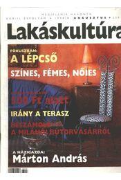 Lakáskultúra 1998/8. augusztus - Régikönyvek