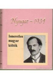 Ismeretlen magyar költők (mini) - Téglás János - Régikönyvek