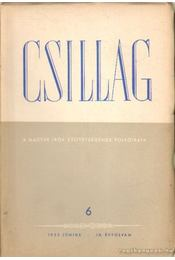 Csillag 1955./6. június - Király István, Nagy Péter, Sarkadi Imre, Simon István, Zelk Zoltán - Régikönyvek