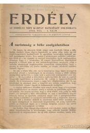 Erdély 1946. tél 4. szám - Erdélyi Sándor, Vámszer Géza - Régikönyvek