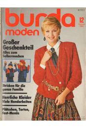Burda moden 1984./12. Dezember (német nyelvű) - Régikönyvek