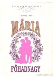 Mária főhadnagy - Régikönyvek