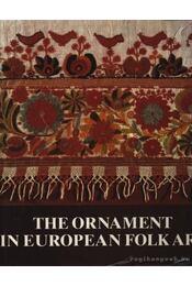The Ornament in European Folk Art - Régikönyvek