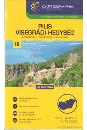 Pilis-Visegrádi-hegység turistakalauz térképpel 1:40000 - Régikönyvek