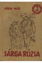 Sárga rózsa - Jókai Mór - Régikönyvek