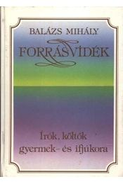 Forrásvidék - Balázs Mihály - Régikönyvek