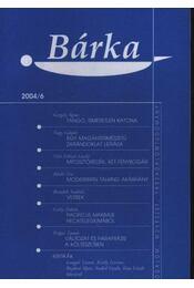 Bárka 2004/6. - Elek Tibor - Régikönyvek