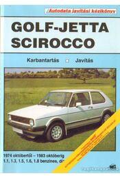 Golf-Jetta - Scirocco autodata javítási kézikönyv - Tiller, Robert, Corby, Graham - Régikönyvek