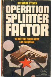 Operation Splinter  Factor - Steven, Stewart - Régikönyvek